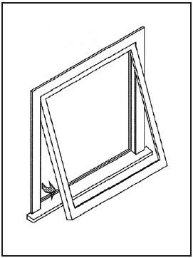 Glass industry terms definitions doc 39 s glass nashville for Operable awning windows