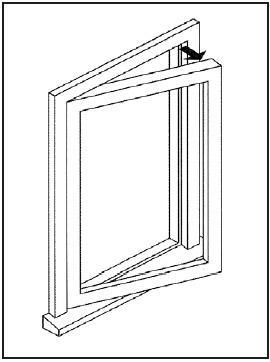 Hinged Window