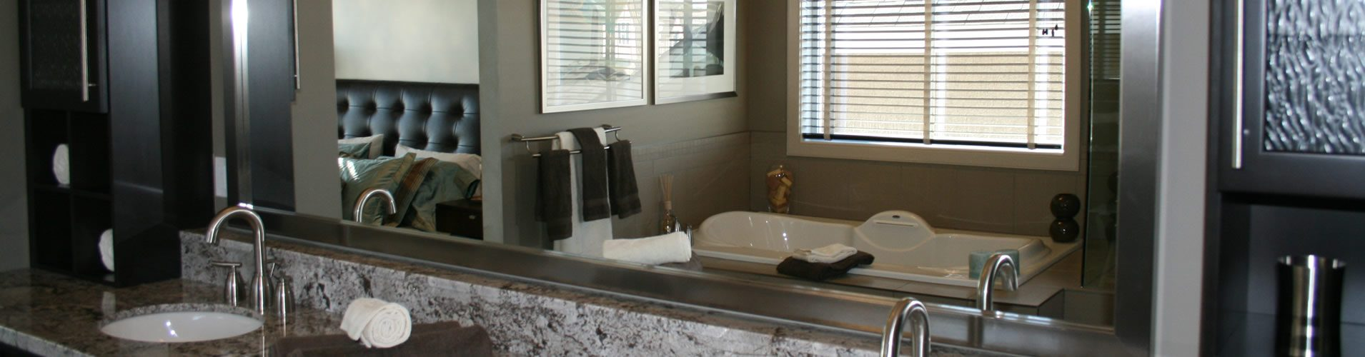 custom bathrom mirror Nashville